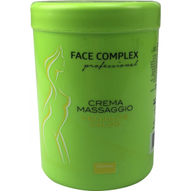 CREMA MASSAGGIO CELLULITE A CALDO 1 KG