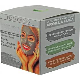 FACE COMPEX MASCHERA ARGILLA  PURA 50 ML